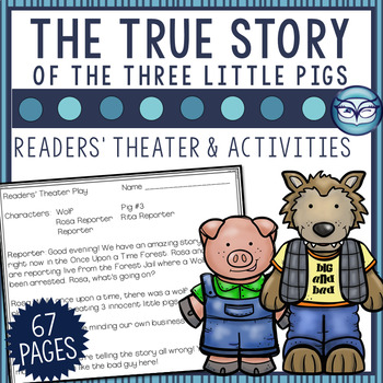The True Story of the Three Little Pigs Readers' Theater a