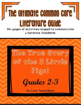 The True Story of the Three Little Pigs!: ULTIMATE Common