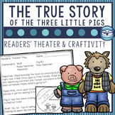 The True Story of the Three Little Pigs Readers' Theater Script