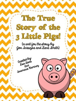 The True Story of the Three Little Pigs! {a unit with STEM