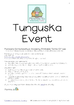 The Tunguska Event Unit Study
