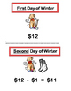 """The Twelve Days of Winter"" -- Math Rhymes and Subtraction"