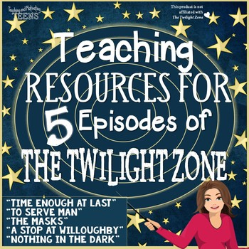 The Twilight Zone Lessons The Bundle - 5 Episodes Middle &