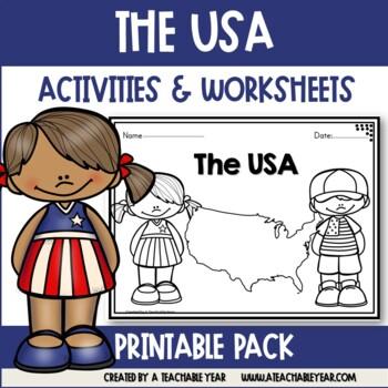 The U.S.A.- Vocabulary Pack