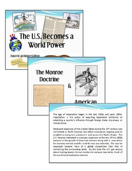 The U.S. as a World Power
