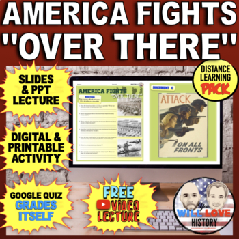 """The U.S. in WWI: America Fights """"Over There"""" Bundle"""