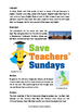The UK / United Kingdom Lesson plan, Information text and