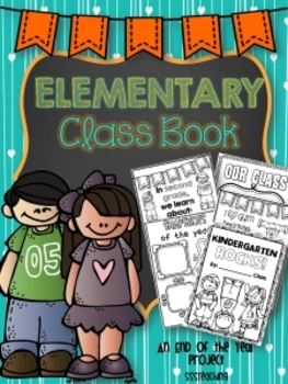 The ULTIMATE Elementary Memory Book or End of Year Book!