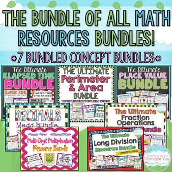 The ULTIMATE Math Resource Bundle