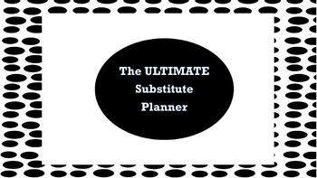 The ULTIMATE Substitute Binder