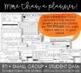 Editable Teacher Binder: Black & White With Pops of Color