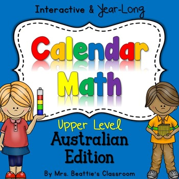 Interactive Calendar Math for SMART Board ~UPPER Elementar