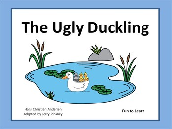 The Ugly Duckling ~ 32 pgs of Common Core Activities