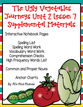 The Ugly Vegetables Journey's Unit 2 Lesson 7