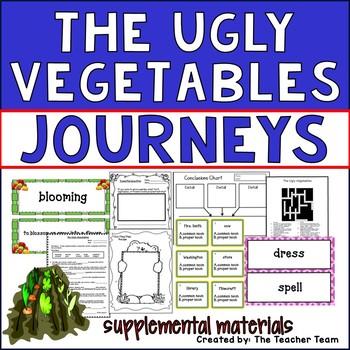 The Ugly Vegetables Journeys Second Grade Supplemental Materials