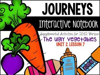The Ugly Vegetables Unit 2, Lesson 7 Journeys Print & Go w