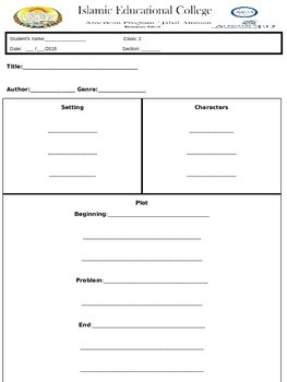 The Ugly Vegetables Worksheet