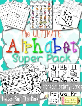 The Ultimate Alphabet Pack: Everything You Need From A to Z!