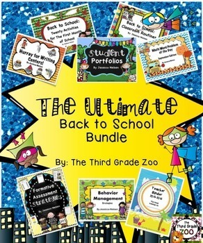 The Ultimate Back to School Bundle (8 Back to School Products)