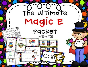 The Ultimate Magic E (CVCe Words) Packet