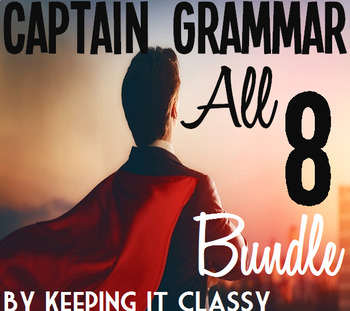 The Ultimate Captain Grammar Bundle:8 Readers' Theater Scr
