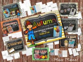 The Ultimate Fall Writing Bundle: 7 Writing Projects & Cra