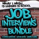 Job Interview Bundle - Special Education High School (Prin