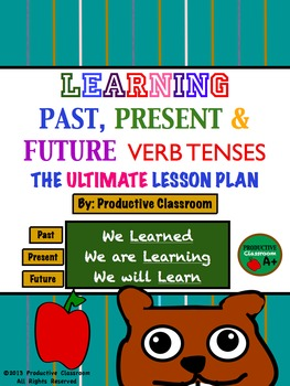 Verb Tenses - The Ultimate 100 Page Lesson Plan: Common Co