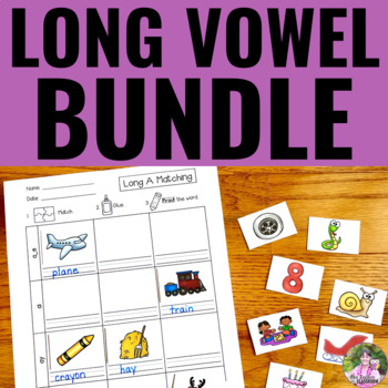 Long Vowels - The BUNDLE