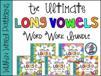 The Ultimate Long Vowel BUNDLE {Words Their Way ~ Within W