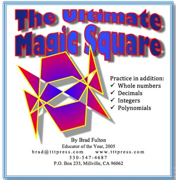 The Ultimate Magic Square