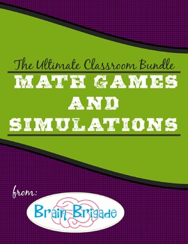 The Ultimate Math Games & Classroom Simulations Bundle wit