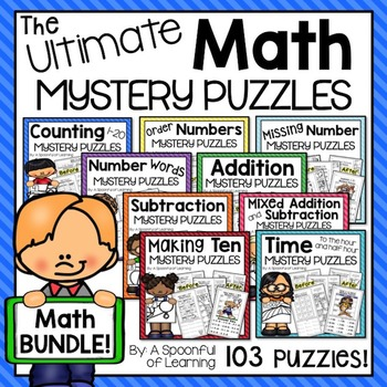 The Ultimate Math Mystery Puzzles Bundle