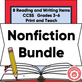 The ULTIMATE Nonfiction Reading/Writing Bundle Grades 3-6