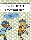 The Ultimate Snowball Fight open ended reinforcement card game