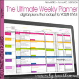 Teacher Binder -EDITABLE Digital & Printable Plan Book Tem