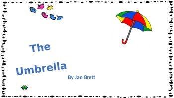 The Umbrella- by jan Brett