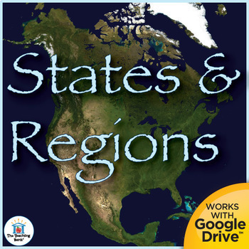 States and Regions Interactive Notebook