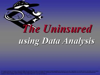 The Unisured: using Data Analysis