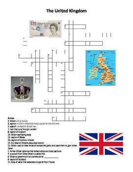 The United Kingdom Crossword Puzzle
