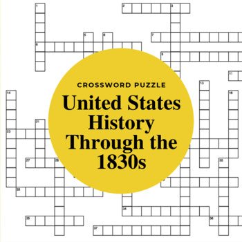 The United States Through 1830s: Balancing Nationalism & S