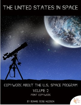 The United States in Space Copywork Vol. 2-Print Style