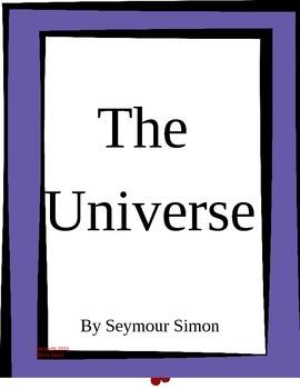 The Universe by Seymour Simon Imagine It Grade 5
