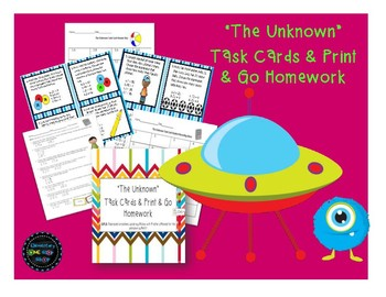 """The Unknown"" Task Cards & HW"