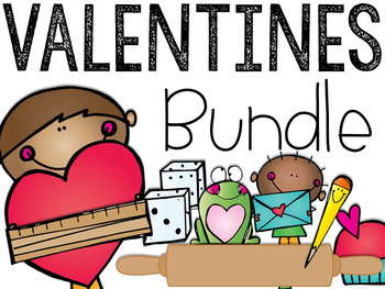 The Valentine's Day Bundle: Math & Literacy Activities and