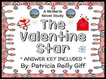 The Valentine Star (Patricia Reilly Giff) Novel Study / Re