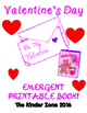 The Valentine's Day Book * Emergent Reader Book .. Perfect
