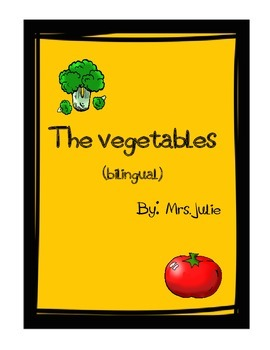 The Vegetables bilingual games