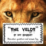"""The Veldt"": Before, During and After Reading (lesson bundle)"