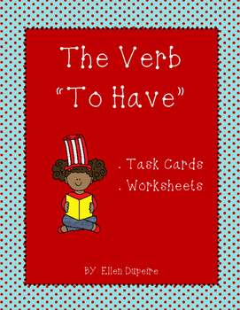 "The Verb ""To Have"" Mini Pack"